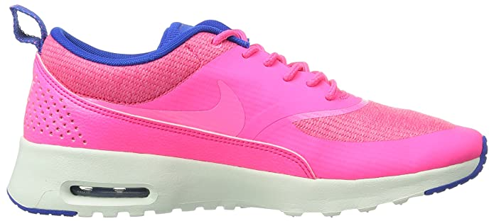 Nike Air Max Thea Pr Running Shoes for Women, Hyper PinkPink GlowHyper CobultSummit White