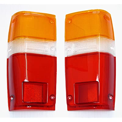 Toyota Pick up Truck 1984-1988 Tail Lights Lens Lenses Pair 84 85 86 87 88: Automotive
