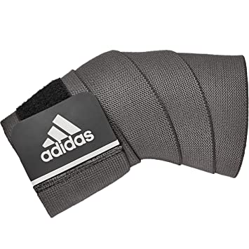 Amazon.com : adidas Universal Support wrap, Black, Long ...