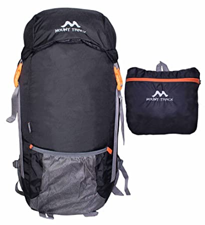 MOUNT TRACK Nylon 9303 Foldable Waterproof 30L Black Rucksack  Amazon.in   Bags, Wallets   Luggage 7bb3a32661