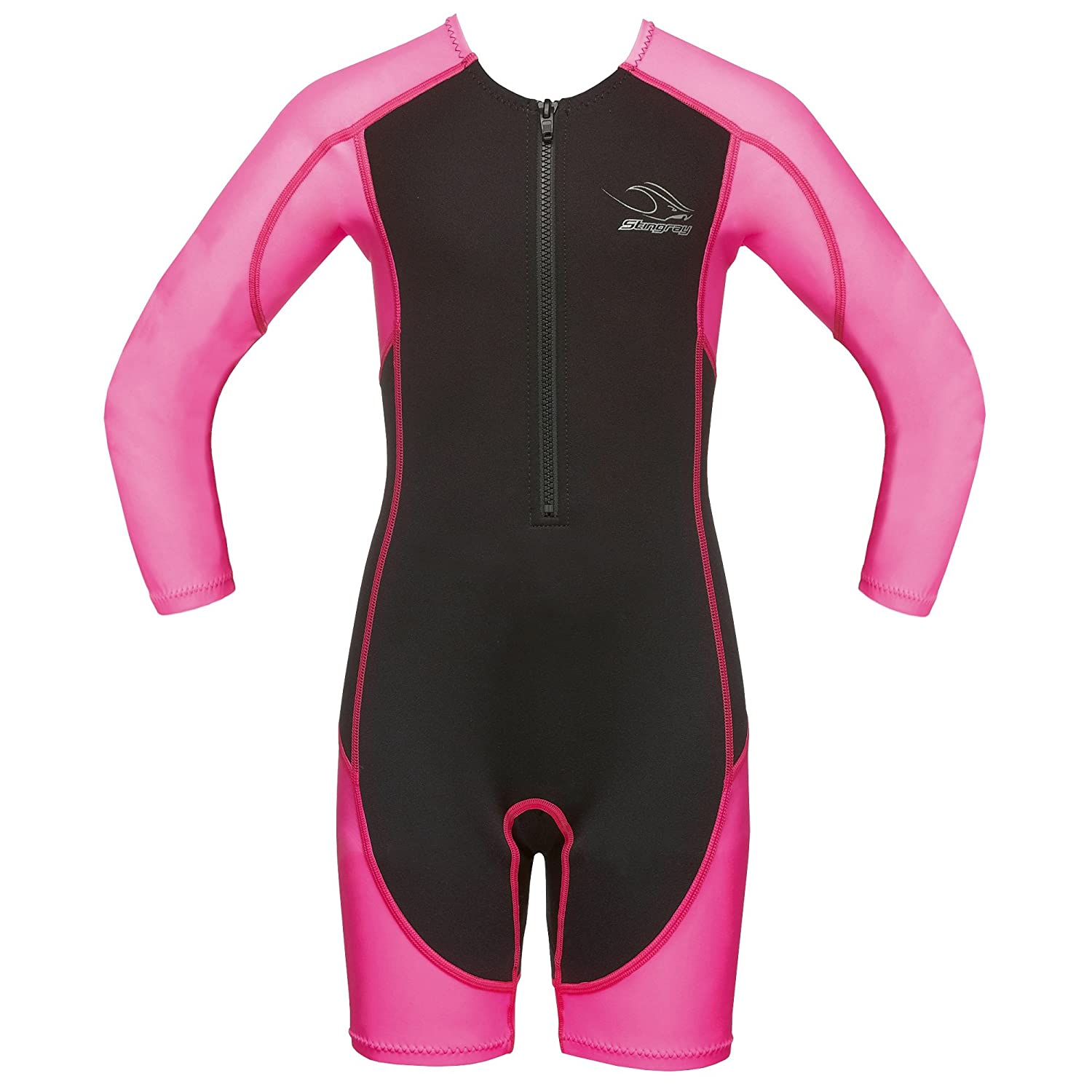 Aqua Sphere Childrens Boys/Girls Stingray Shorty Long Sleeve Wetsuit