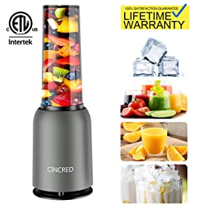 Updated 2019 Version Professional Countertop Blender for Smoothie, Ice, Milkshake, Frozen Fruit Vegetables Drinks, Personal Small Mini Food Bullet Blenders Processor Shake Mixer Maker for Kitchen