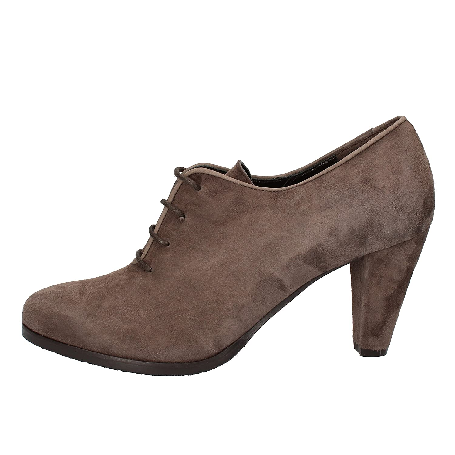 - CALPIERRE Boots Womens Suede Grey