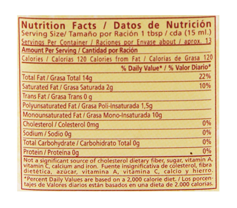 Rafael Salgado 100 Pure Olive Oil Tin 200ml Grocery Pomace Pet 175 Ml Gourmet Foods