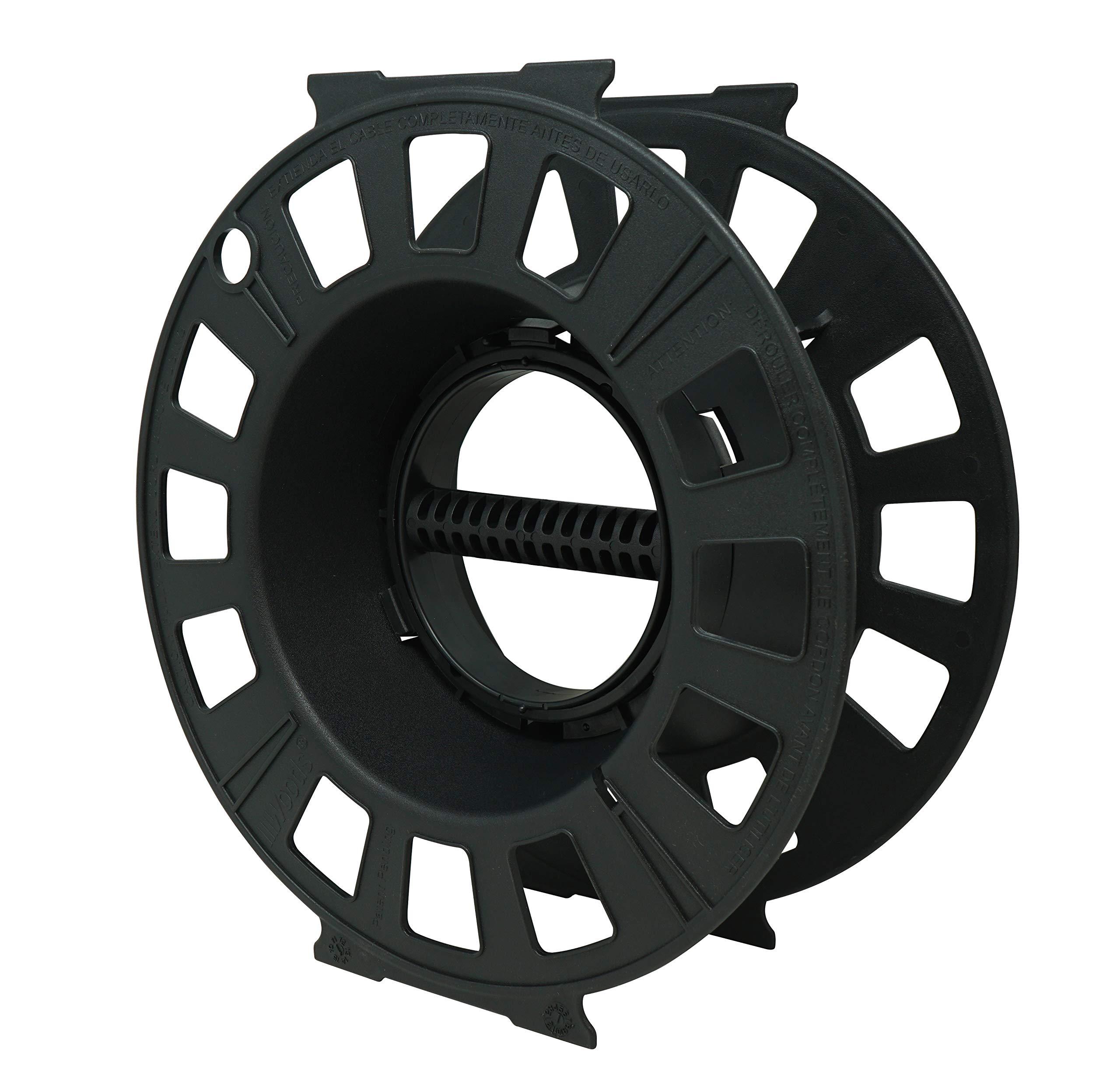 The Designers Edge 547702 Cord Reel, Black