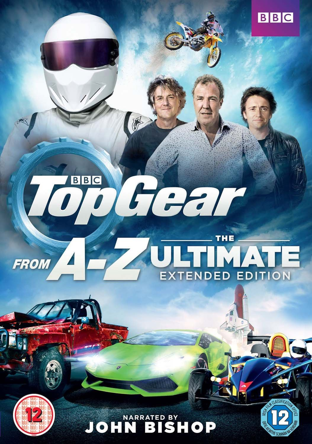 Top Gear - A-Z: The Ultimate Extended Edition Reino Unido DVD: Amazon.es: Jeremy Clarkson, Richard Hammond, James May, The Stig, John Bishop, Jeremy Clarkson, Richard Hammond, Lucy Kenwright: Cine y Series TV