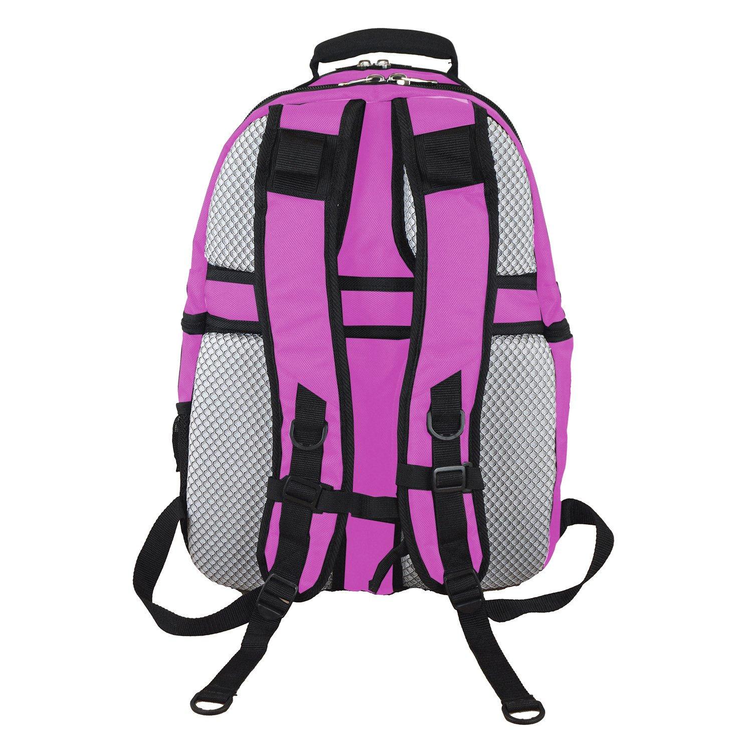 NBA Boston Celtics Voyager Laptop Backpack, 19-inches, Pink by Denco (Image #4)