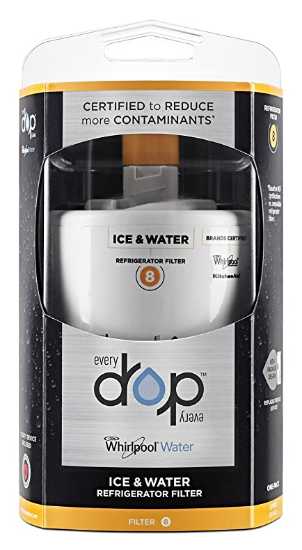 everydrop by whirlpool water filter 8 pack of 1