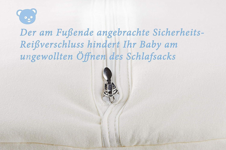 Alvi Baby M/äxchen Thermo Schlafsack Baby-Schlafsack ohne /Ärmel Gr/ö/ße:70 Design:Silver Stars silbergrau 786-9 Alvi Au/ßensack wattiert Winterschlafsack /ÖKO-TEX zertifiziert