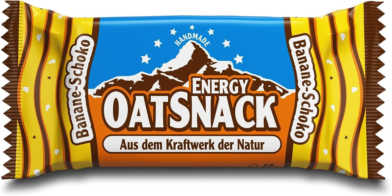 Energy OatSnack - Barritas naturales hechas a mano, plátano y ...