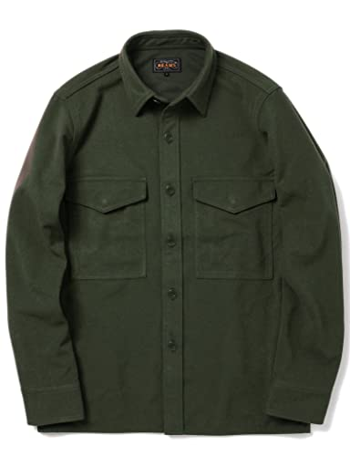 Polyester Over-Shirt 11-18-2888-139: Green