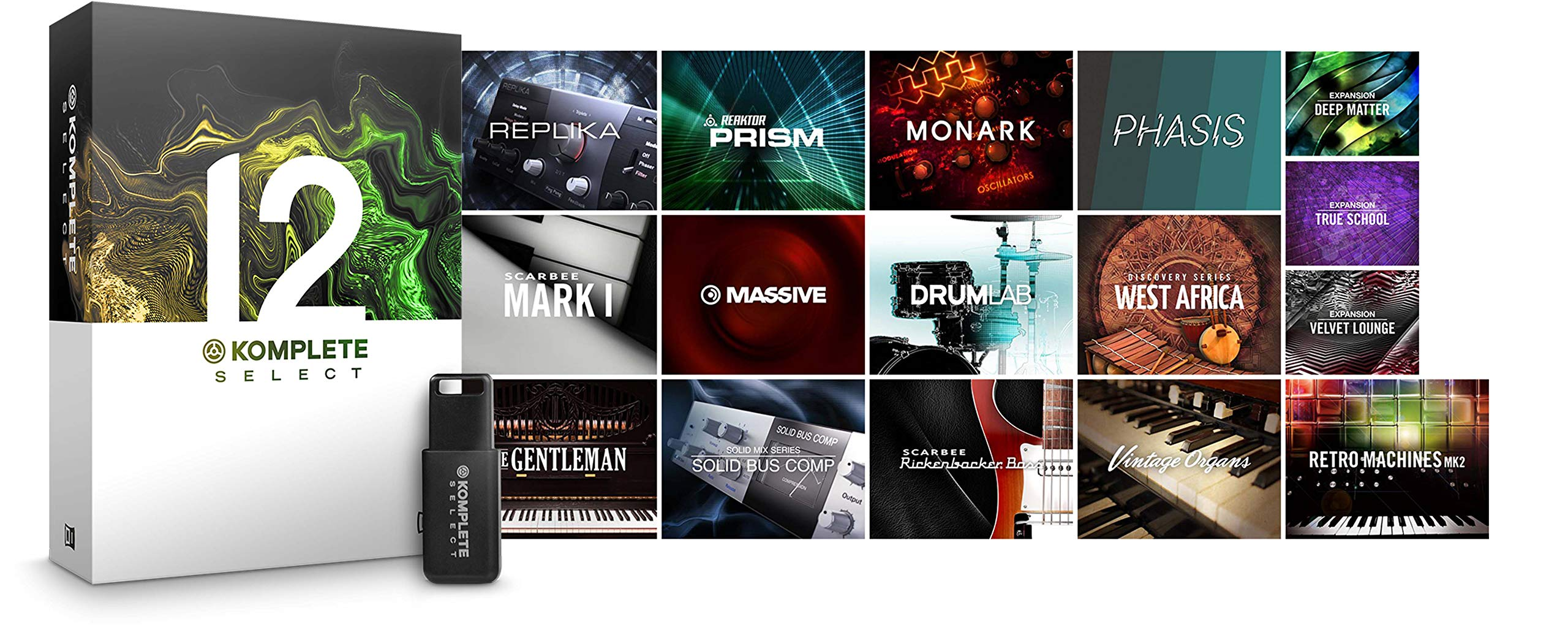 Native Instruments Komplete 12 Select Software Suite