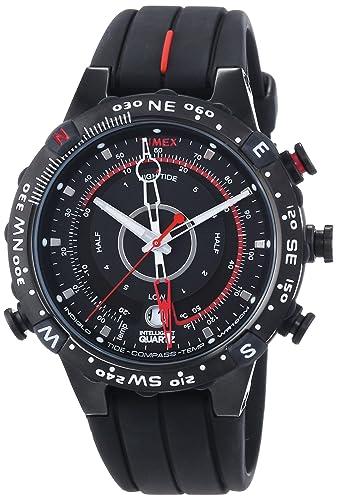 amazon com timex men s expedition e instruments tide temp timex men s expedition e instruments tide temp compass watch t45581