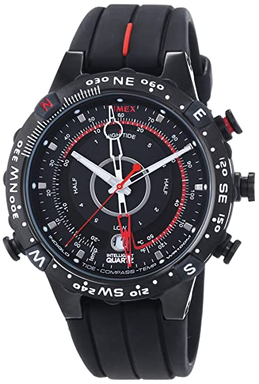 Timex® men's expedition® e-instruments tide, temp & compass watch.