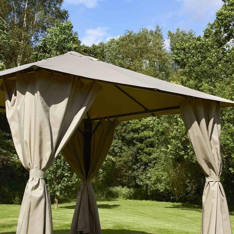 Heavy Duty Garden Gazebo de San Marcos en Venecia Rectangular diseño de 3 x 4 m - Sage: Amazon.es: Jardín