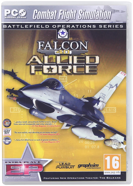 Amazon Com Falcon 4 0 Allied Force Pc Video Games