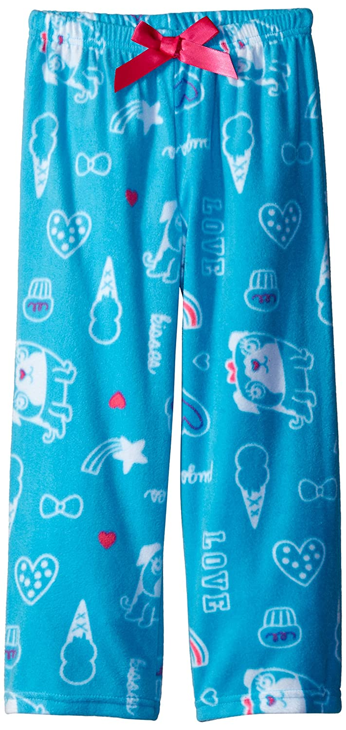 Komar Kids Big Girls Micro Fleece Pant Pug Print Komar Kids Girls 7-16 K171447