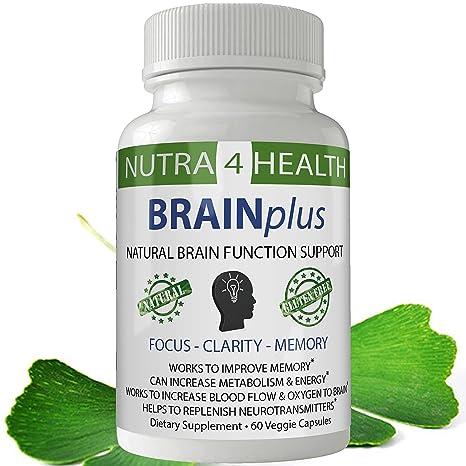 Buy Brainplus Brain Capsules Brain Booster Brain Supplement With