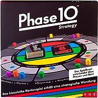 Mattel Games FTB29 Phase 10 Strategy Brettspiel, geeignet für 2 - 6 Spieler, Spieldauer ca. 60 - 90 Minuten, ab 7 Jahren