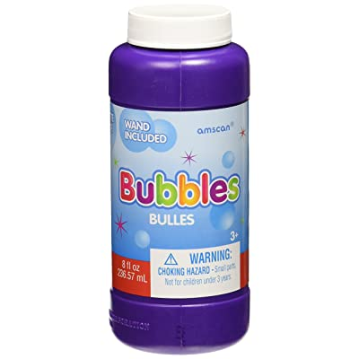 amscan Fun-Filled Bubbles | Party Favor | 8 oz.: Toys & Games