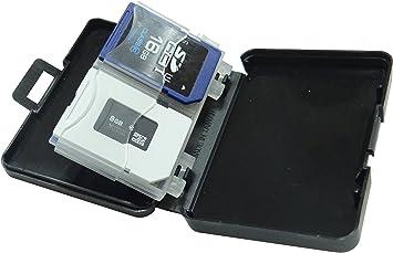 Amazon.com: Akust - Caja de almacenamiento para 4 tarjetas ...
