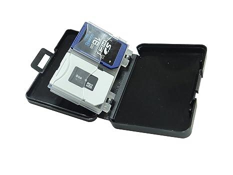 akust Mini tarjeta de memoria caja de almacenamiento para 4 ...