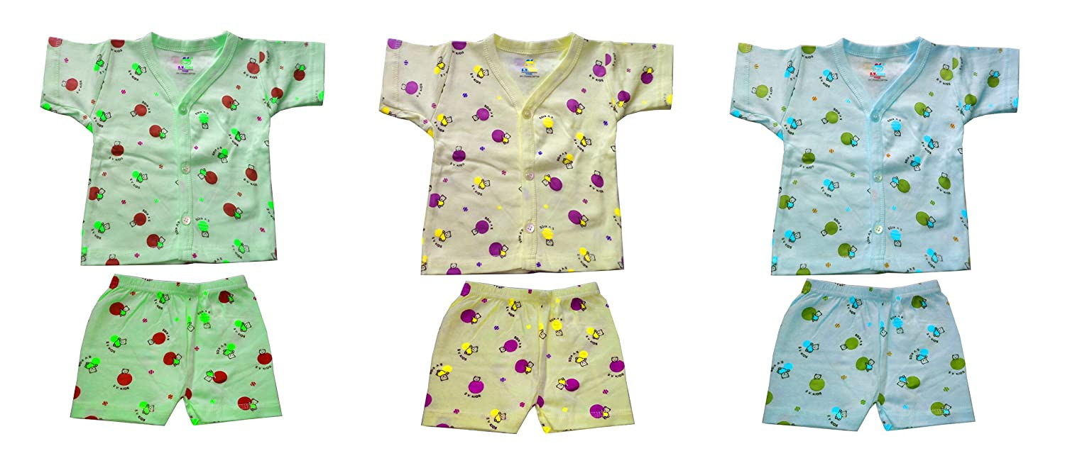 0fe7cc57e Baby Suit Zero 0 Size for Baby Suit 0-3 Months Newborn Combo Offer Pack Set    Apna_Showroom: Amazon.in: Baby