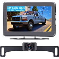 AMTIFO A2 HD 1080P Car Backup Camera with 4.3 Inch Monitor,Easy Installation System for Cars,Trucks,Campers,Clear Night…