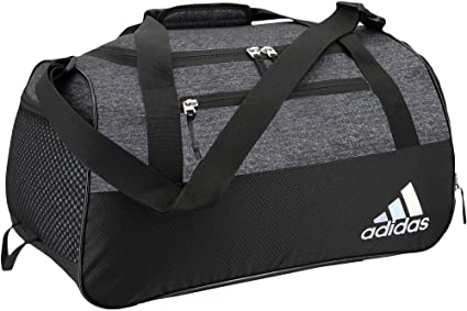 462be379891f Amazon.com  adidas Squad III Duffel Bag (Black Jersey Black 01 ...