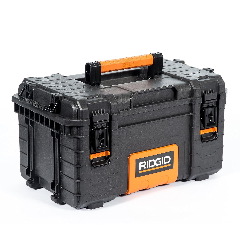 RIDGID 54343 Profi Medium Werkzeugbox, Werkzeugkasten zur Verwendung in Kombination mit RIDGID Profi Werkzeugkoffer und Werkzeugtrolley Ridge Tool Company