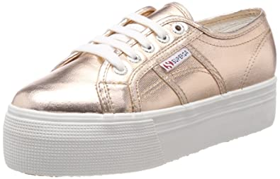 Superga 2790 COTMETW, Damen Sneakers, Pink (Rose Gold), 37.5 EU
