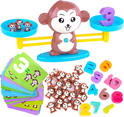 Amazon.com: CoolToys Monkey Balance Cool Math Game for Girls ...