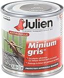 Julien 101001 Minium Gris Peinture antirouille 0,125 L Mat
