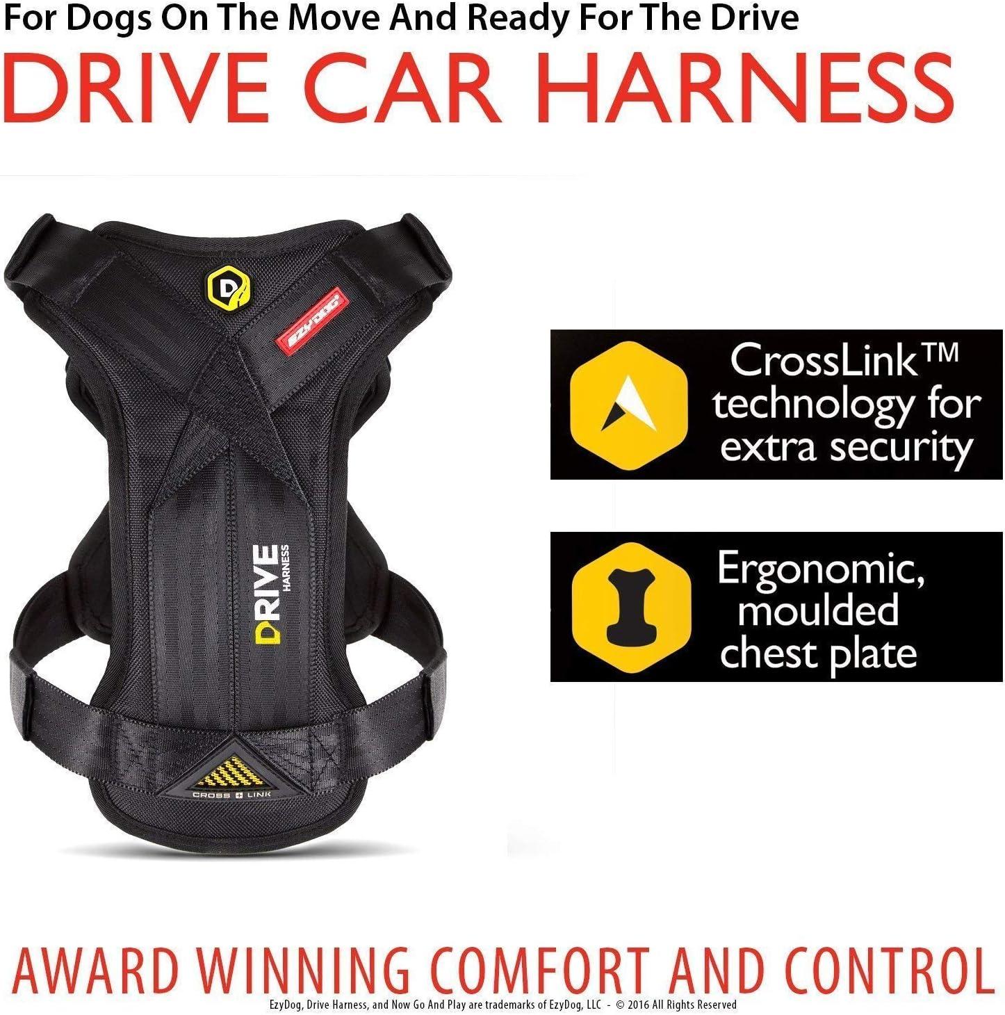 EzyDog Drive - Arnés de seguridad para perro de viaje – Prueba de ...