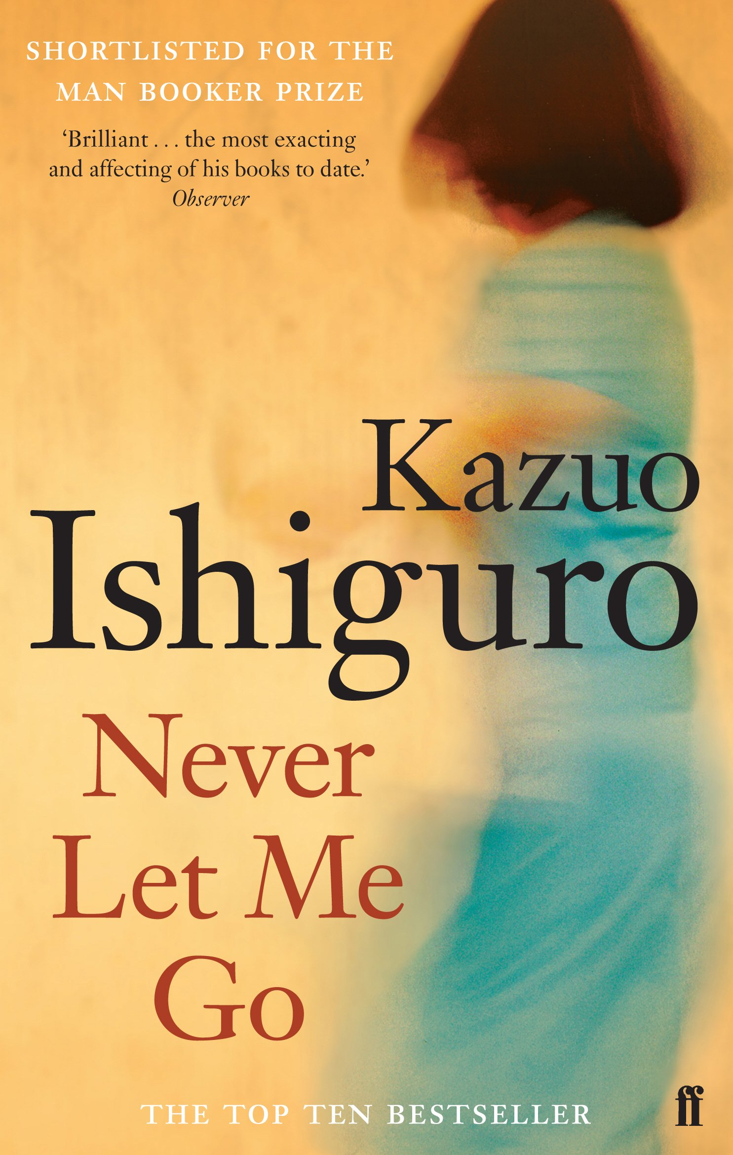 never let me go author