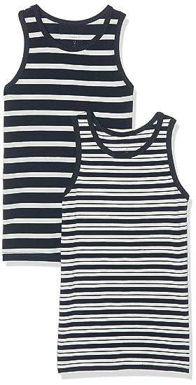 NAME IT Camiseta sin Mangas para Beb/és Pack de 2