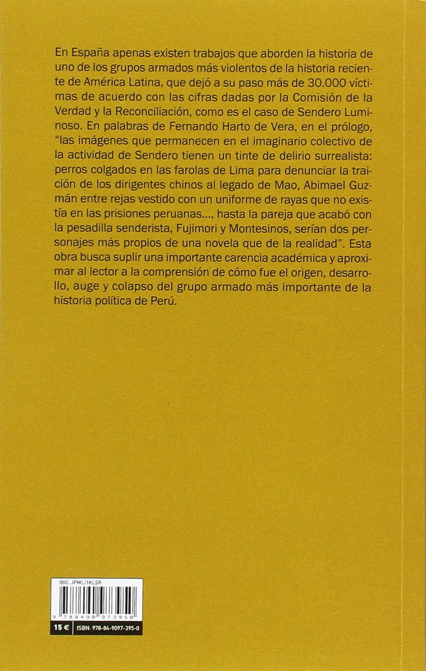 Breve historia de Sendero Luminoso (Mayor): Amazon.es: Jerónimo Ríos Sierra, Marté Sánchez Villagómez: Libros