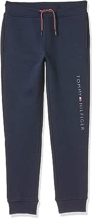 Tommy Hilfiger Joggers Essential con Logo Pantalones para Niños