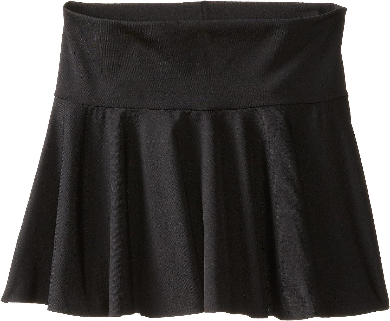 Clementine Little Girls Microfiber Pull-On Skirt