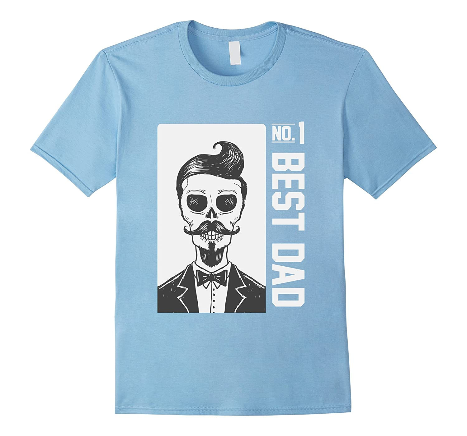 #1 DAD Best Dad Birthday Gifts Fathers day handsome skull-Art