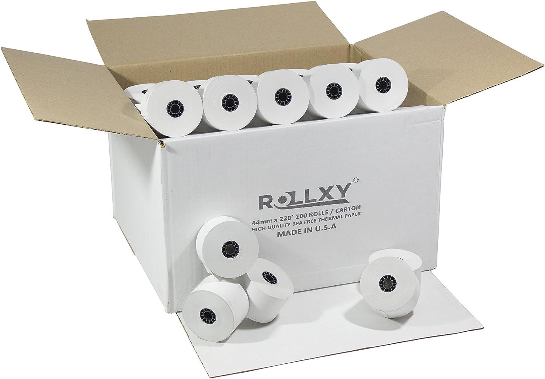 12 ROLLS SHARP XE-A101 57mm CASH REGISTER PAPER ROLLS