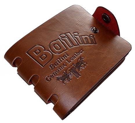 Bailini - Cartera para hombre Hombre marrón marrón claro