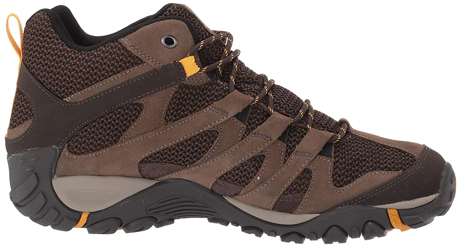 Merrell Mens Alverstone Mid Waterproof Hiking Shoe