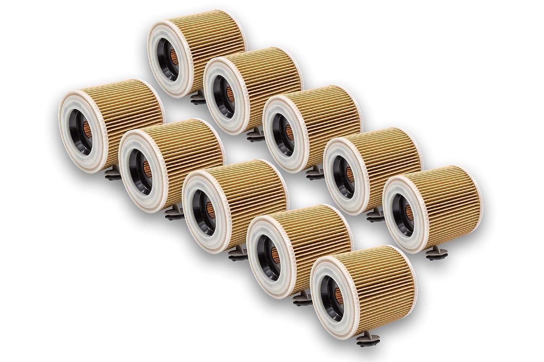 vhbw - 10 x Cartuchos de filtro para aspiradora, Robot aspirador ...