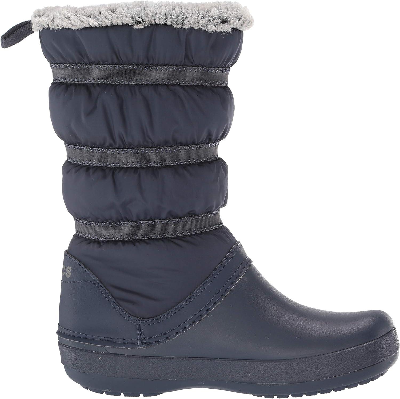 Crocs Crocband Winter Boot Women, Botas de Nieve para Mujer Azul Navy BAC7y