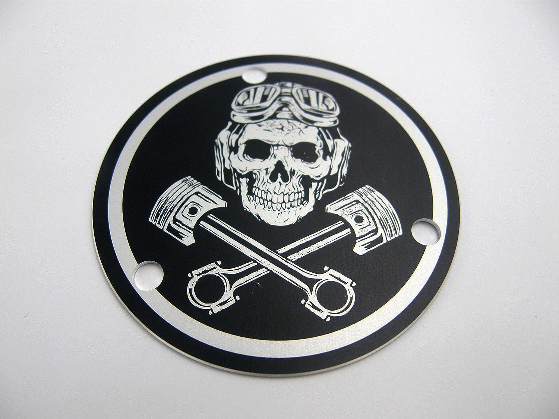 TPS Cover Drosselklappen Abdeckung Skull-Pistons