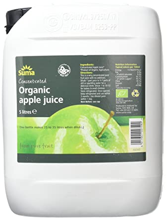 Suma Organic Apple Juice Concentrate 5 Litres