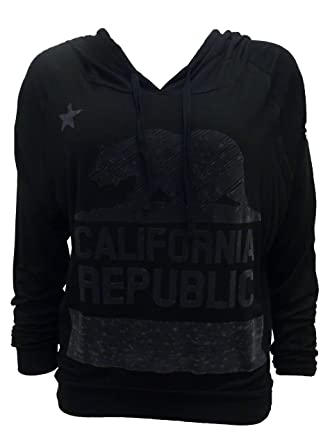 So Cal Clothing >> Amazon Com So Cal Women S Cali Flock Lightwieght Hoodie Clothing