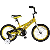 """TITAN Champion Deluxe Boys BMX Bike with 16"""" Wheels, Training Wheels Included"""