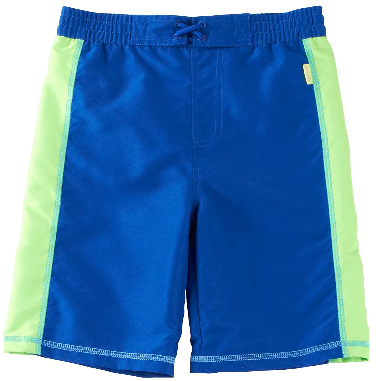 Coppertone Kids Little Boys /& Toddlers Swim Trunks UV Protection Bathing Suit
